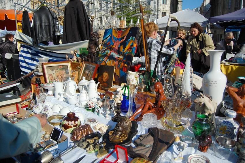 блошинный рынок Вена Австрия