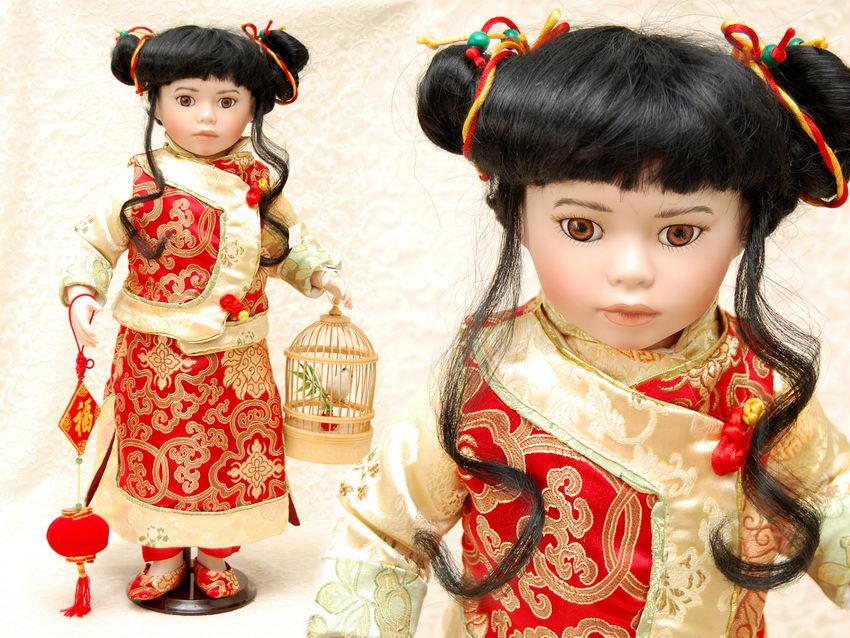 фарфоровая кукла kwai
