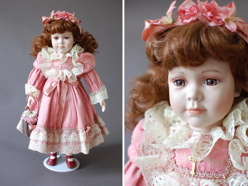 немецкая фарфоровая кукла