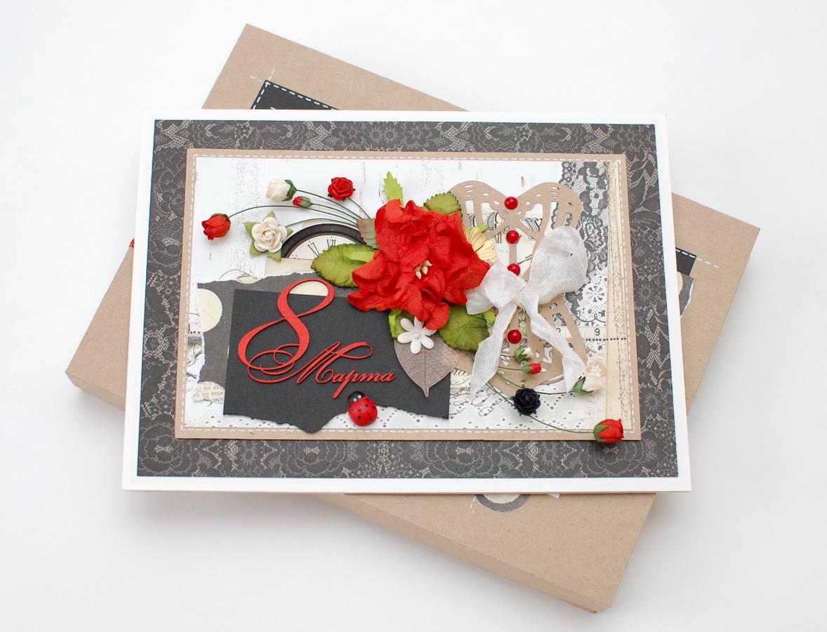 Днем, флористические открытки ручной