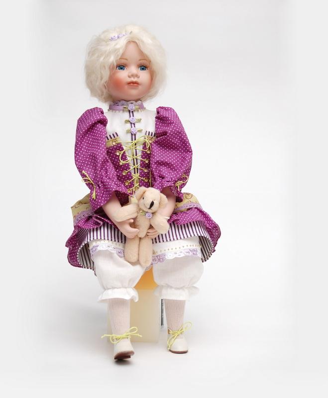 фарфоровая кукла Ксюша