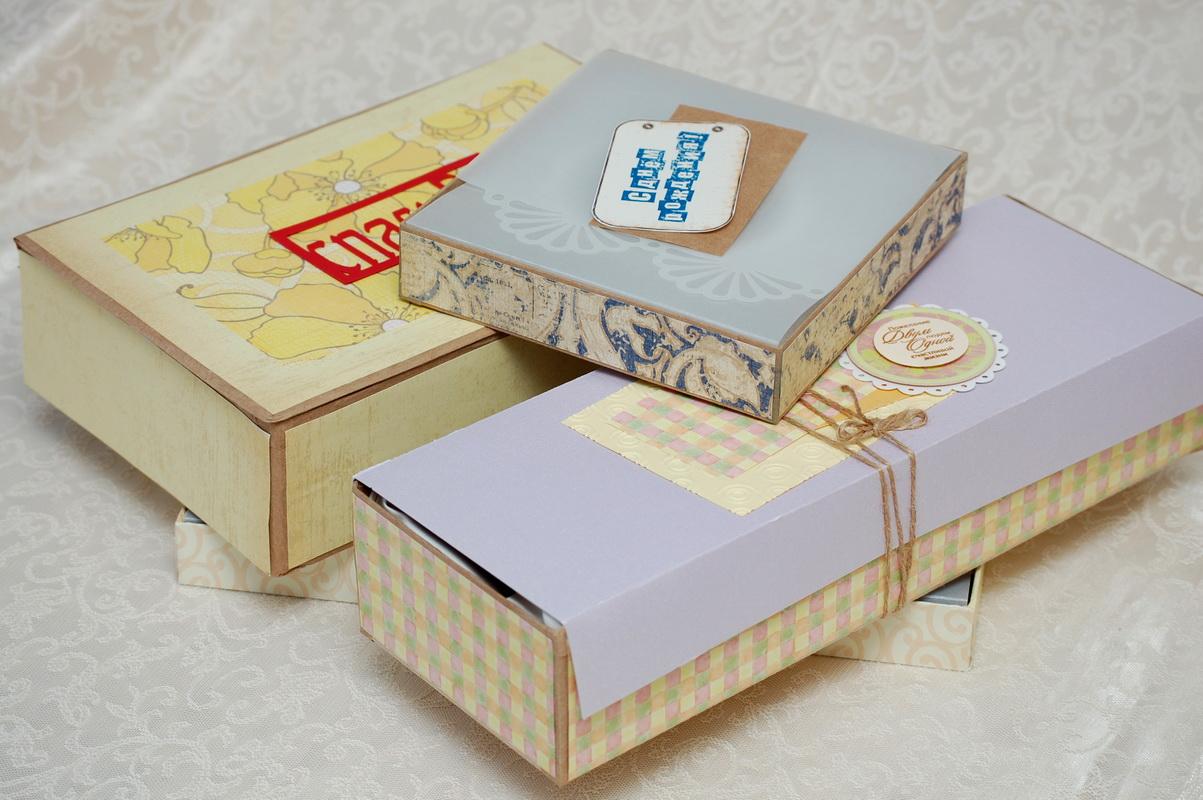 пробные коробки для подарков