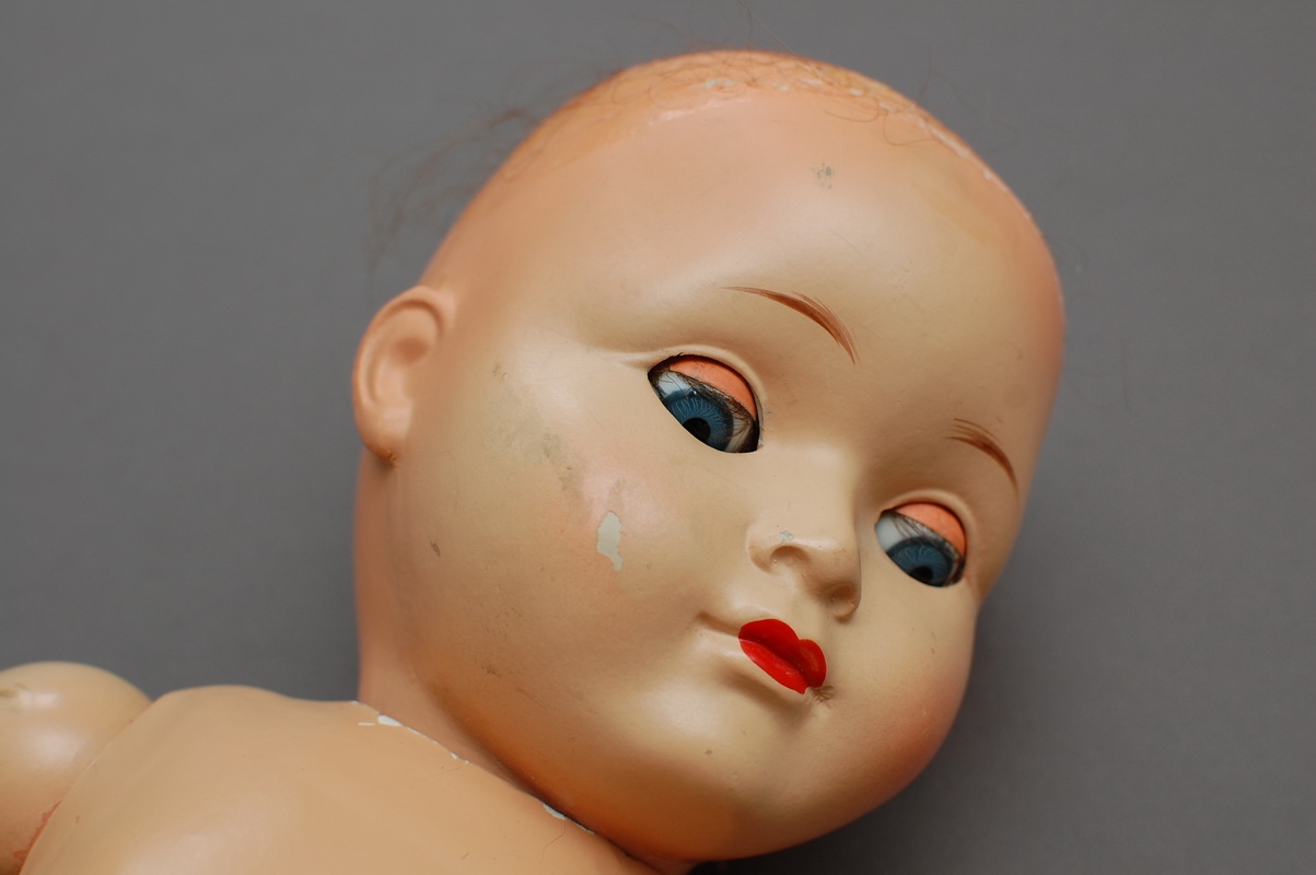 немецкая композитная кукла 25