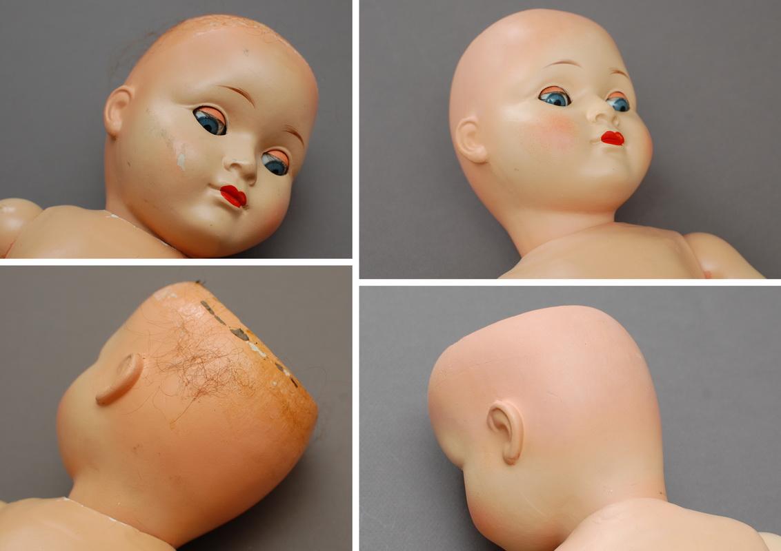 немецкая композитная кукла 7