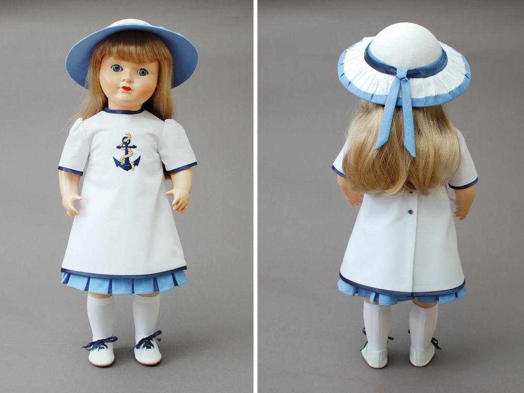 одежда для куклы, костюмирование композитной куклы