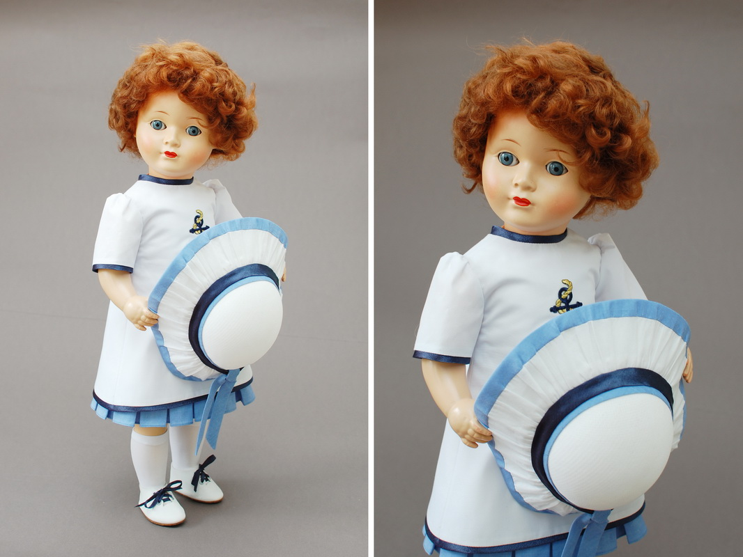 немецкая композитная кукла 20