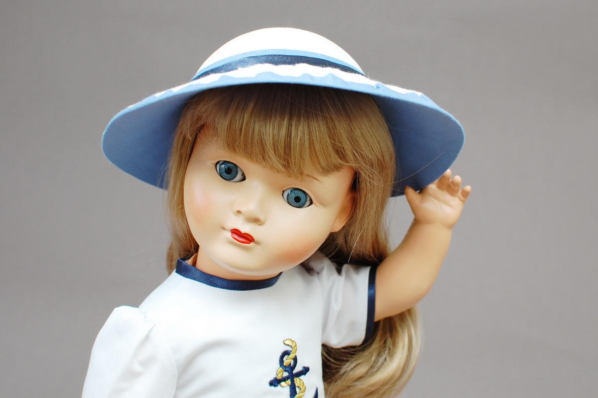 немецкая композитная кукла 51