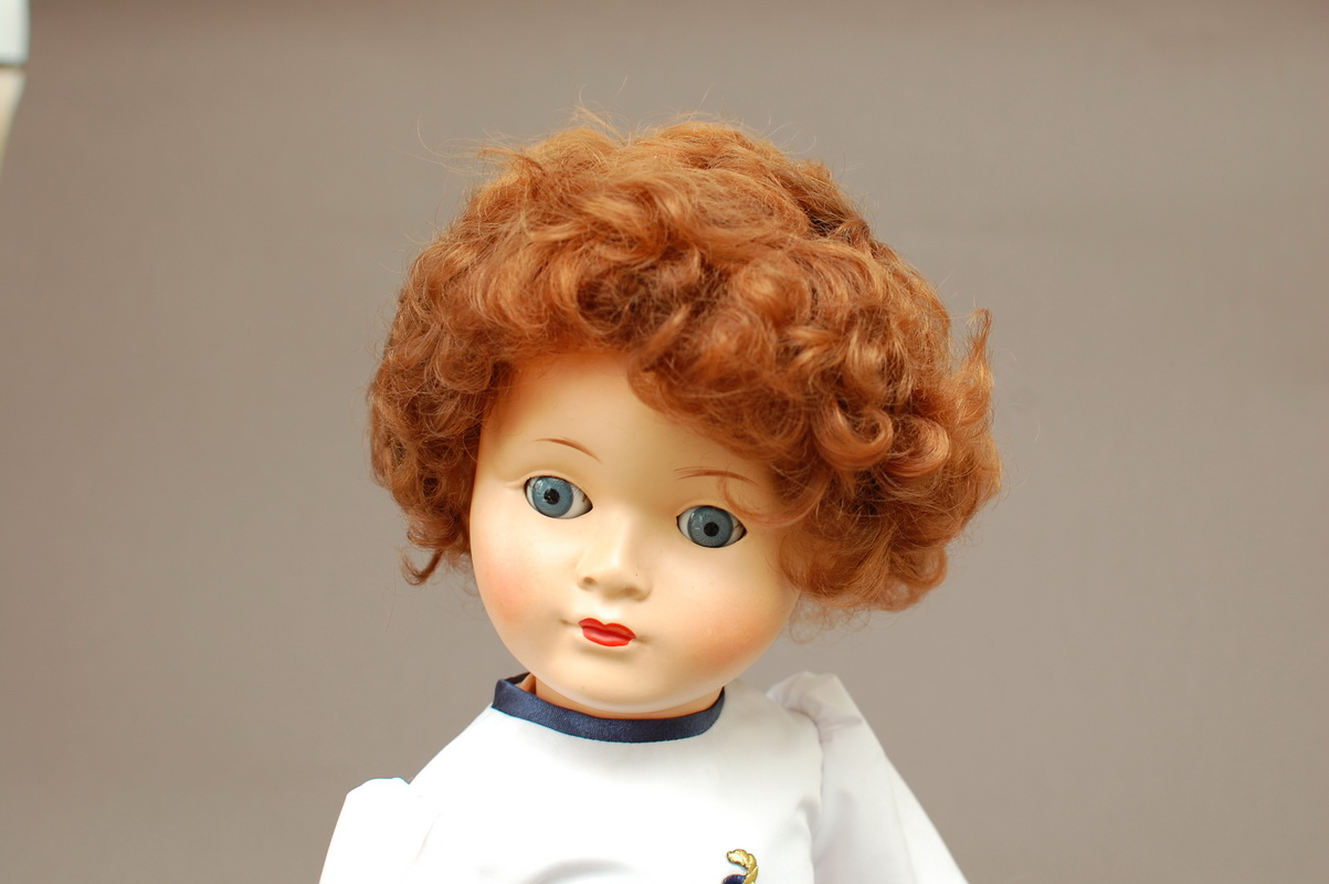 немецкая композитная кукла 57