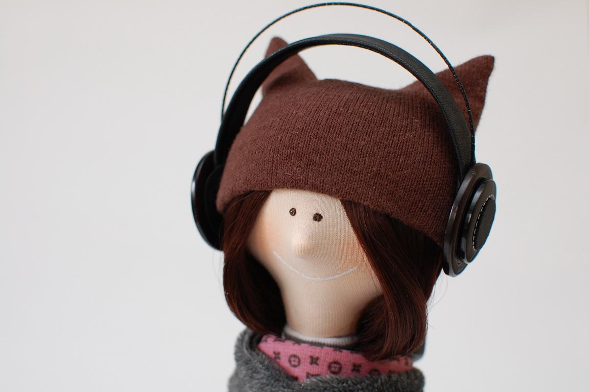 текстильная кукла большеножка 13