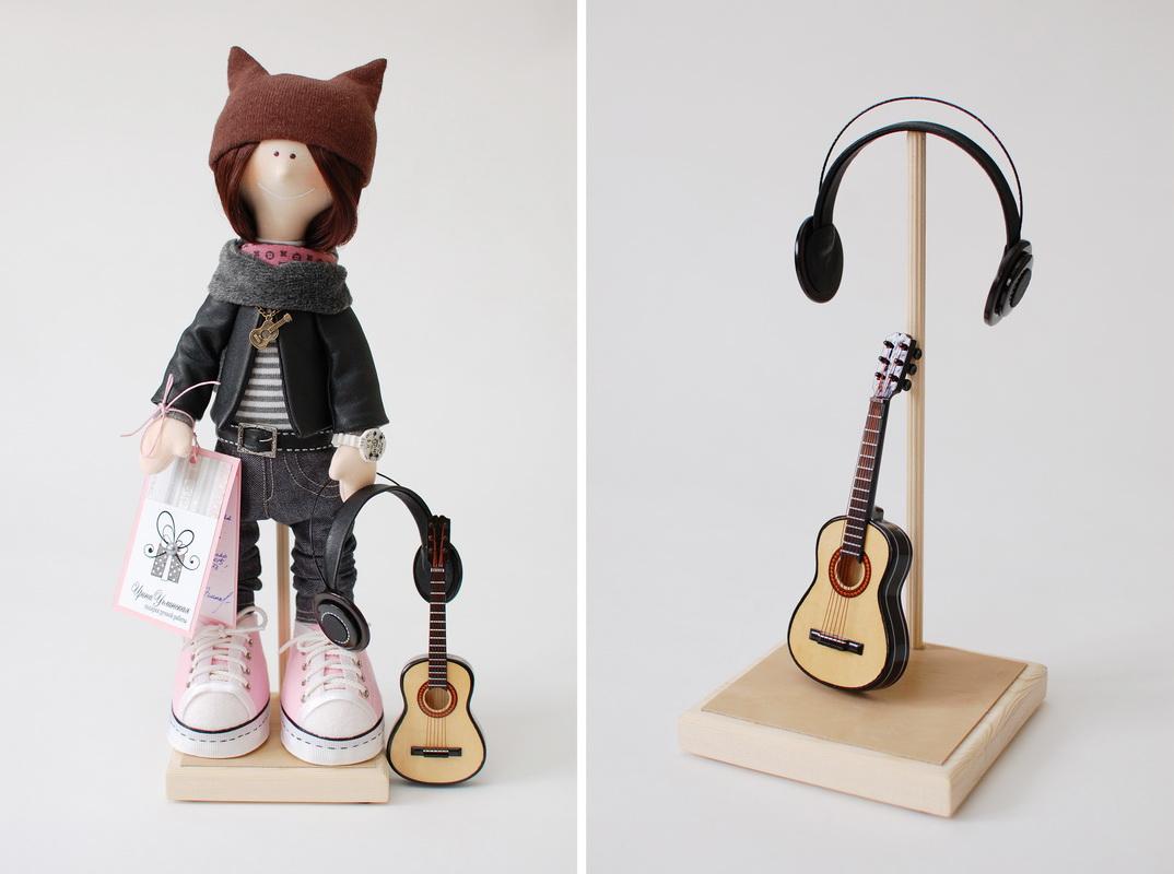 текстильная кукла большеножка 16