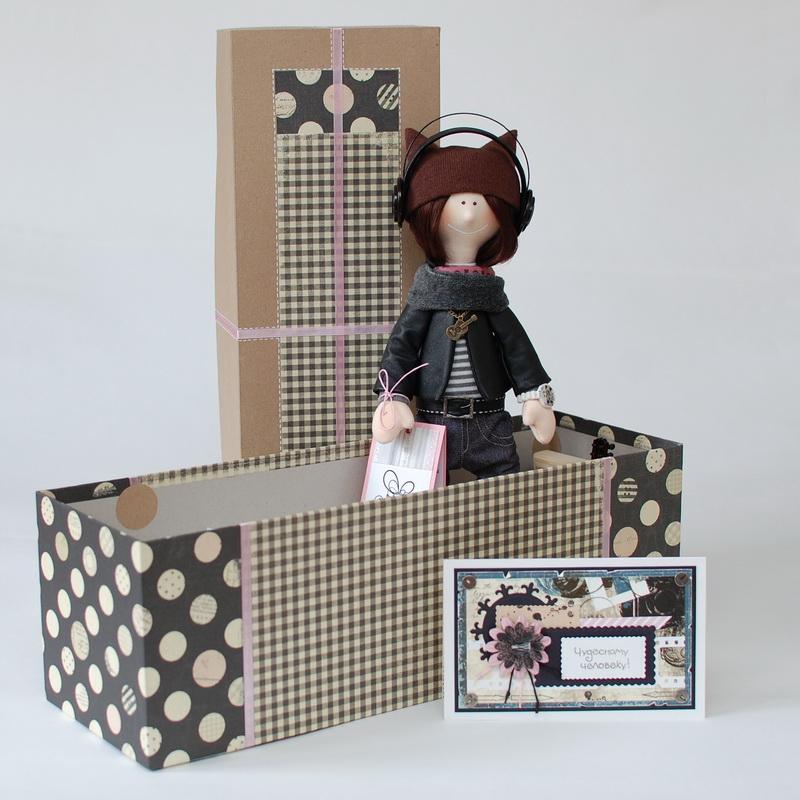 текстильная кукла большеножка 17
