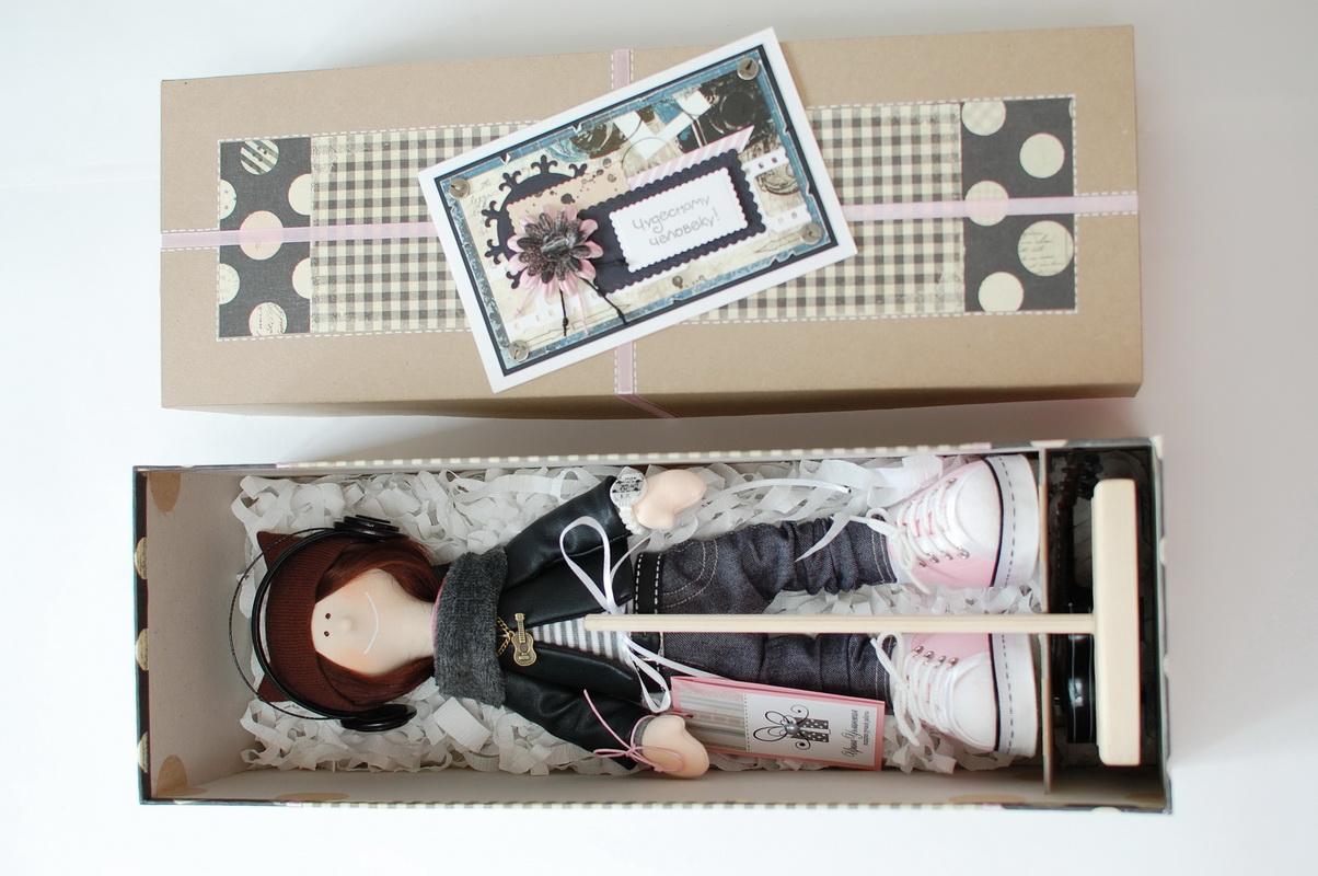 текстильная кукла большеножка 19