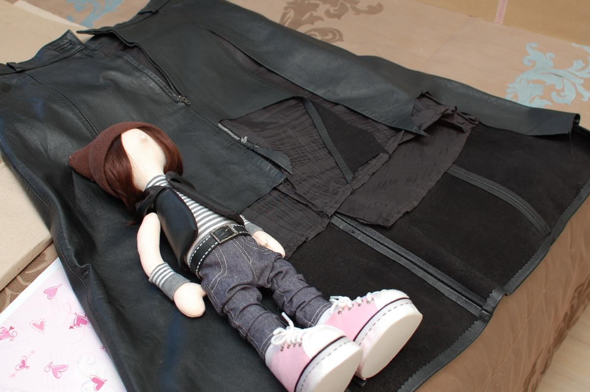 текстильная кукла большеножка 7