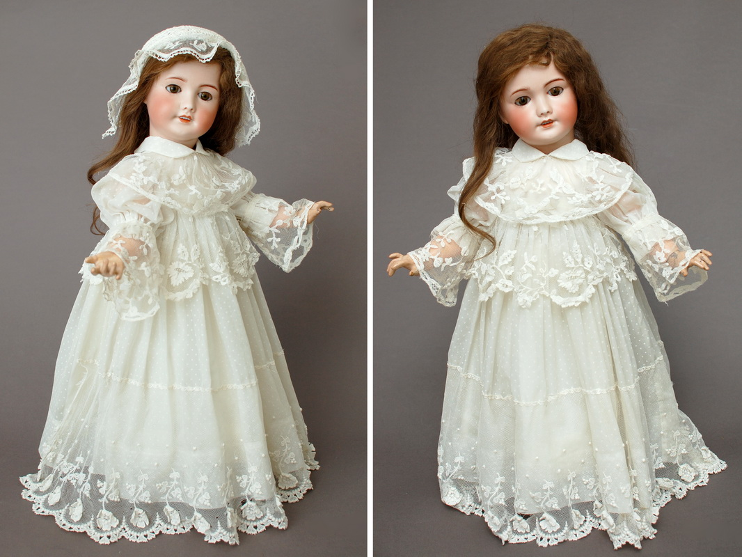 французская кукла unis 301