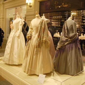 фотография с выставки в ГУМе