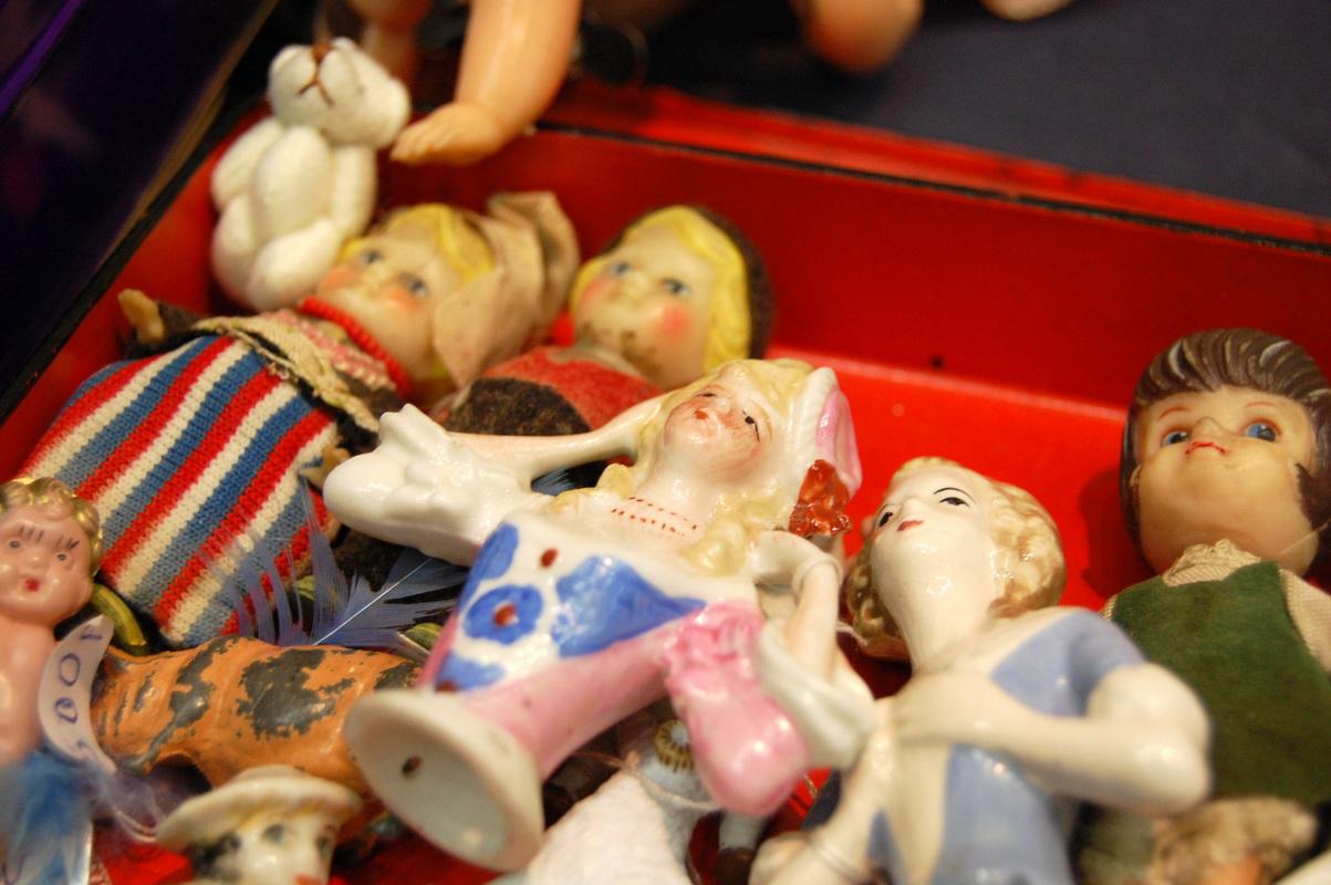 куклы половинки из фарфора