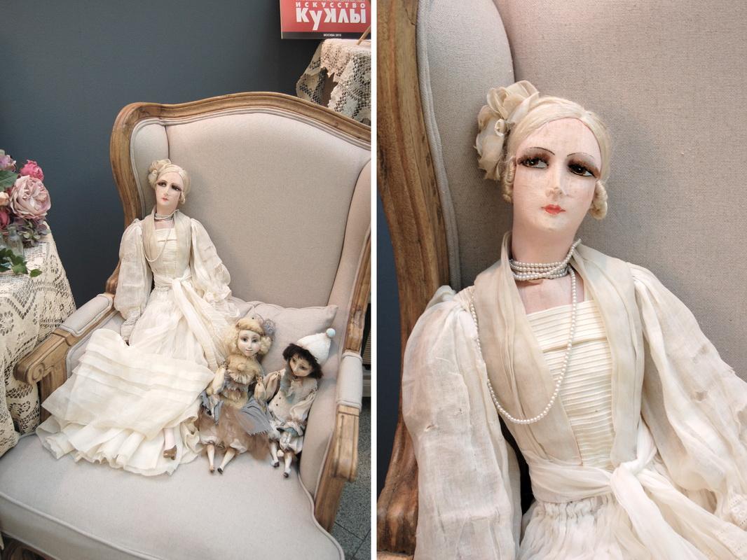 фото будуарной куклы с выставки искусство куклы 2015