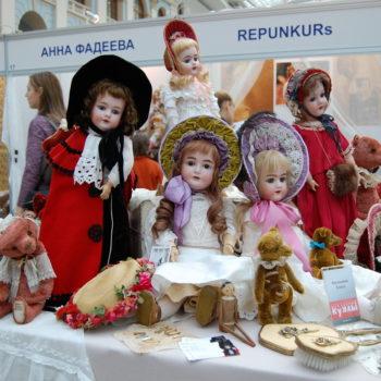 фото с выставки искусство куклы 2015 года в гостином дворе