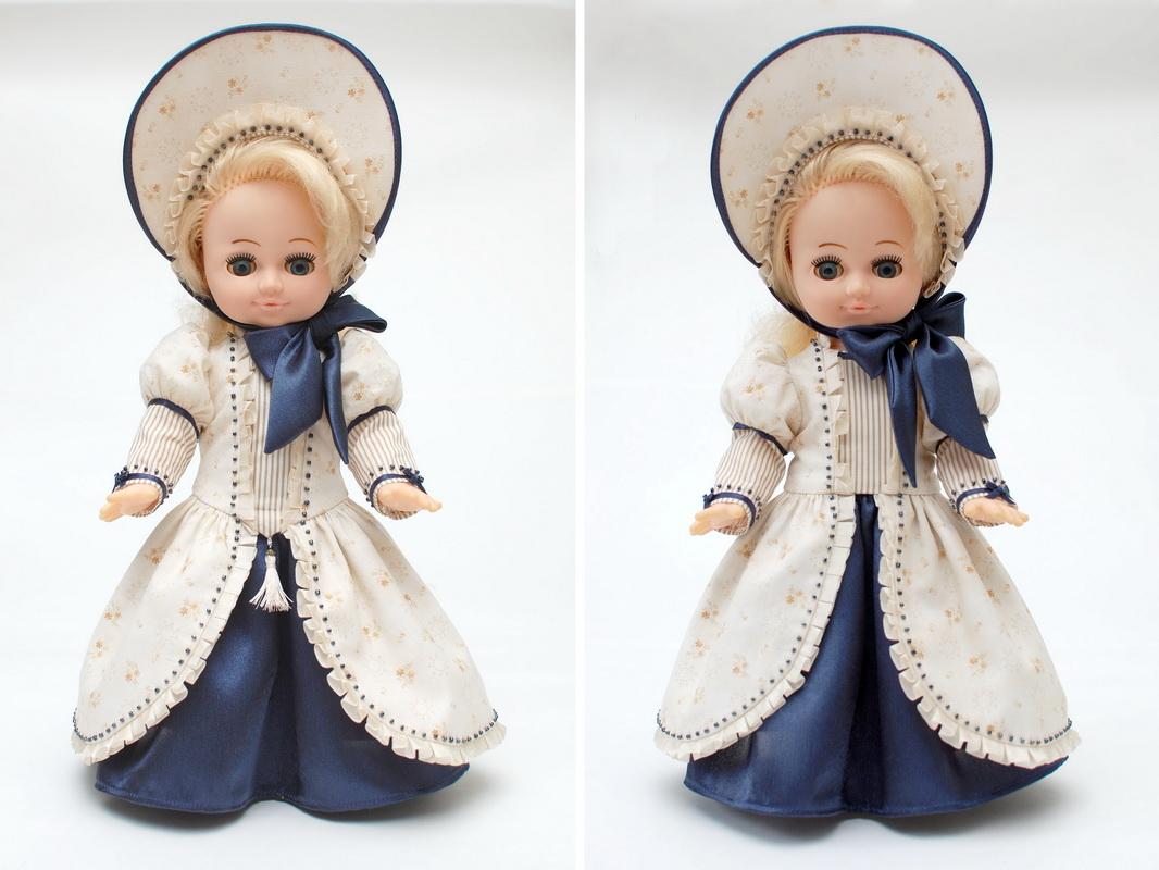 костюм для советской куклы