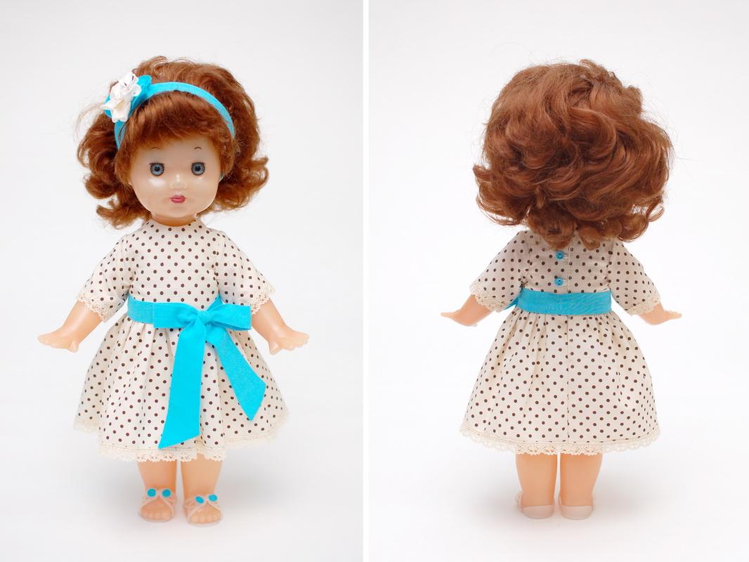 новое платье для советской куклы