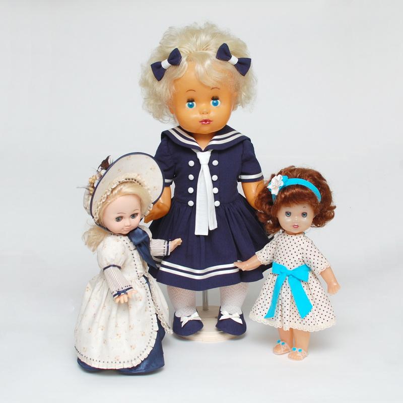 одежда для советских кукол
