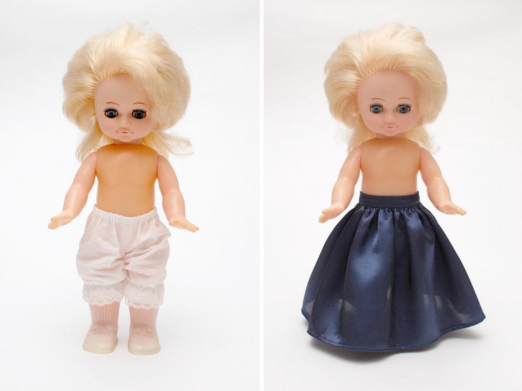 панталоны и нижняя юбка для куклы