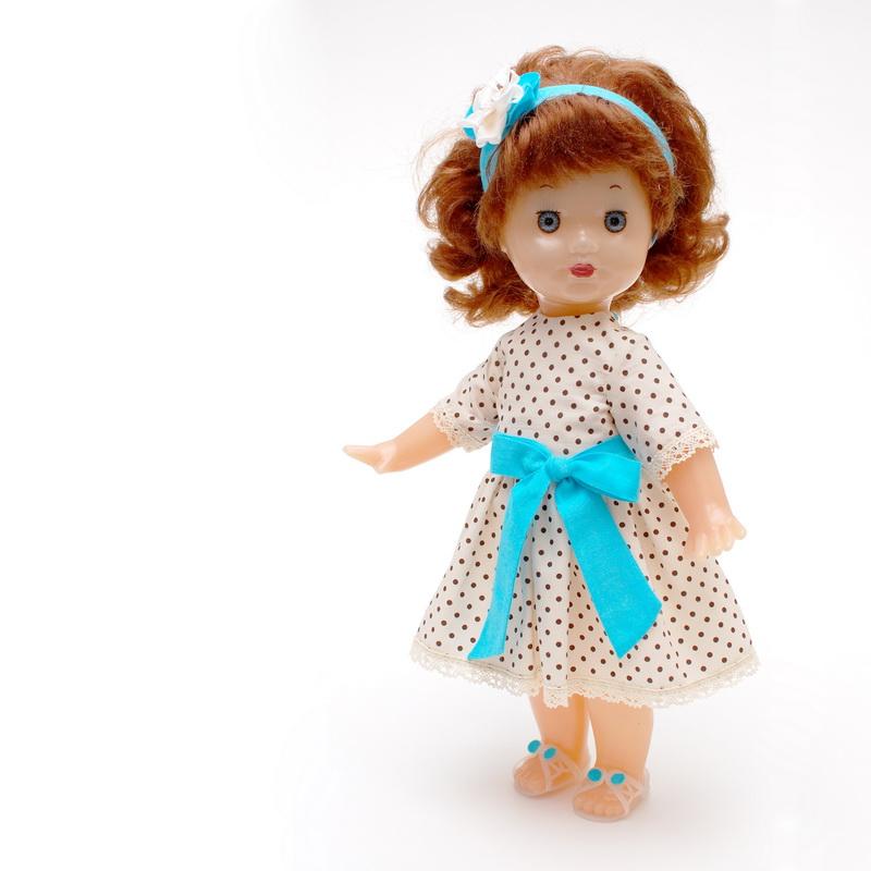 советская пластмассовая кукла