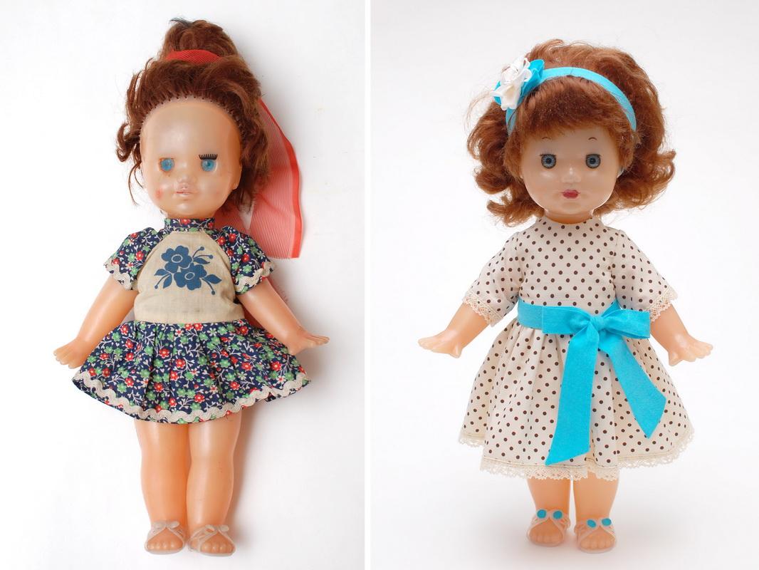 кукла до и после ремонта