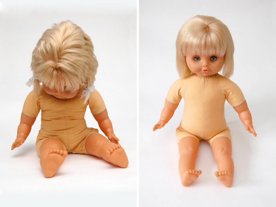 ремонт тела резиновой куклы