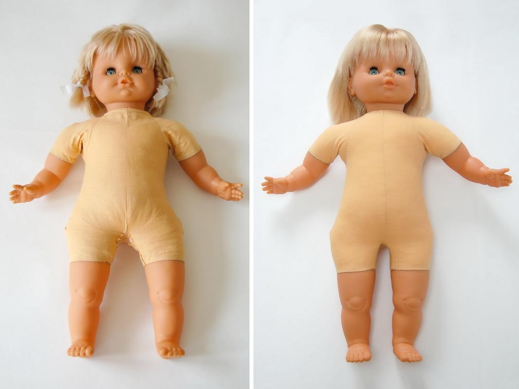 ремонт виниловой куклы