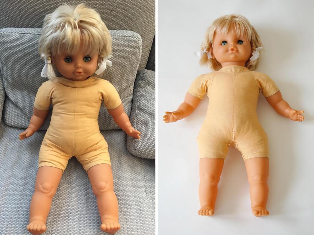 фотография резиновой куклы советский времен