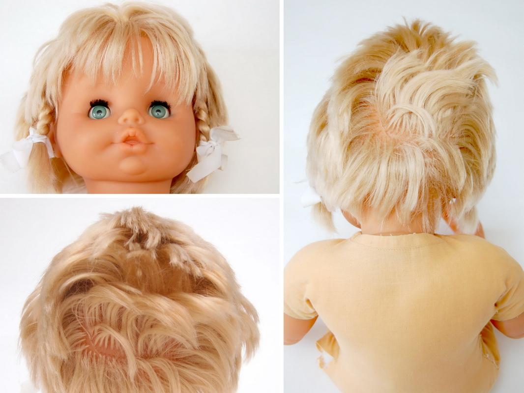 волосы у куклы