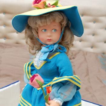 войлочная кукла ленчи