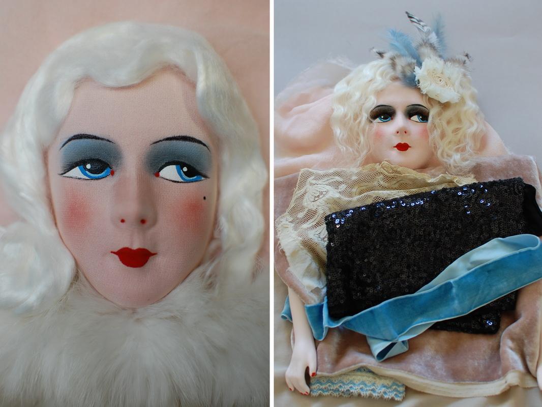 подбор образа для французской будуарной куклы