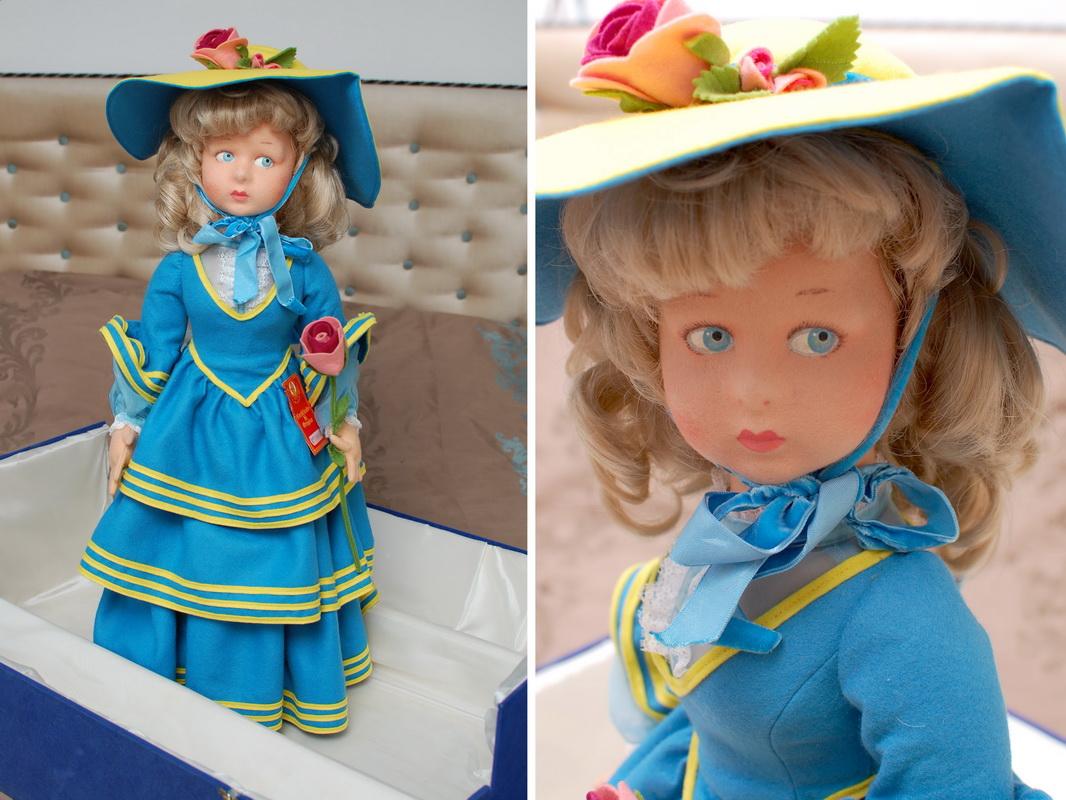 кукла Lenci 80-х годов