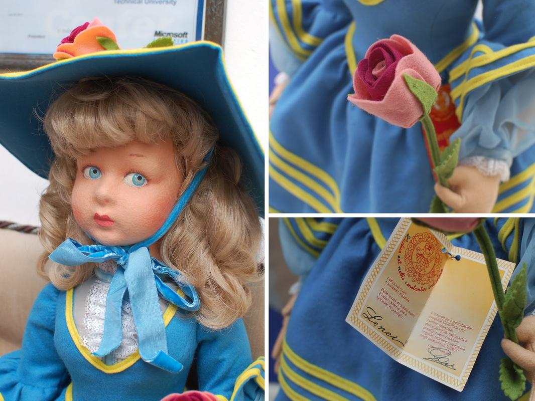 фетровая кукла Ленчи