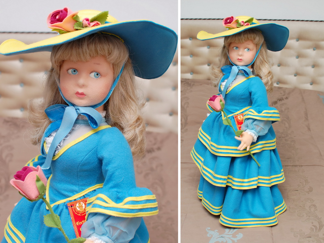 кукла Ленчи 80-х годов