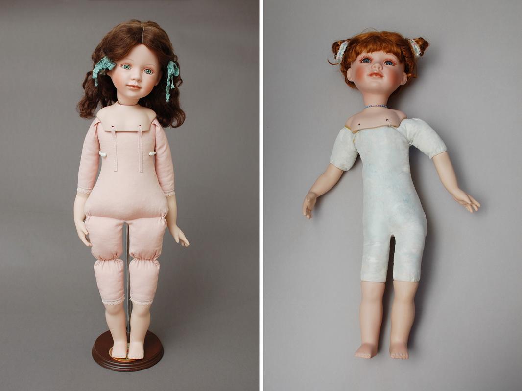 изготовления нового тела для фарфоровой куклы