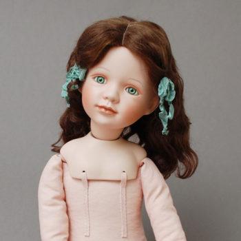 переделаная фарфоровая кукла