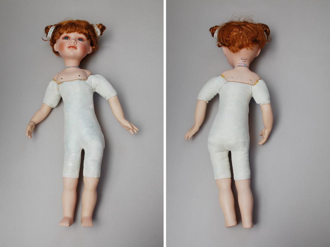 мастер-класс по переделке фарфоровой куклы