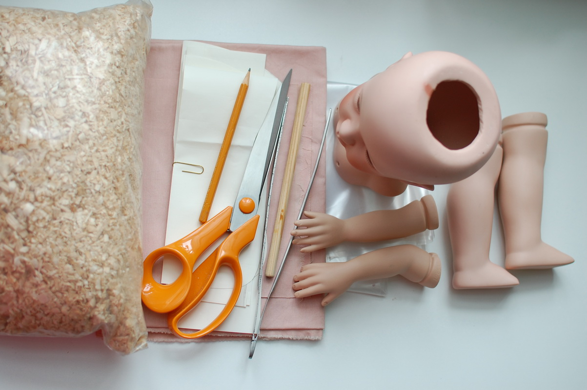материалы для переделки куклы
