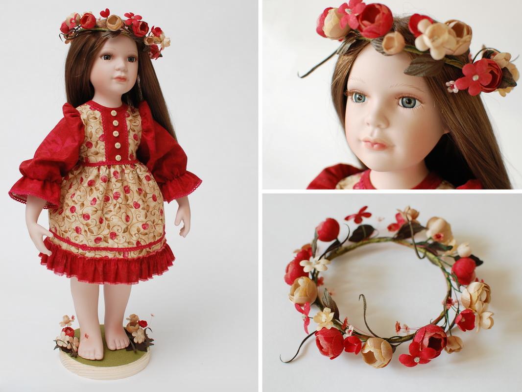 образ куклы из фарфора