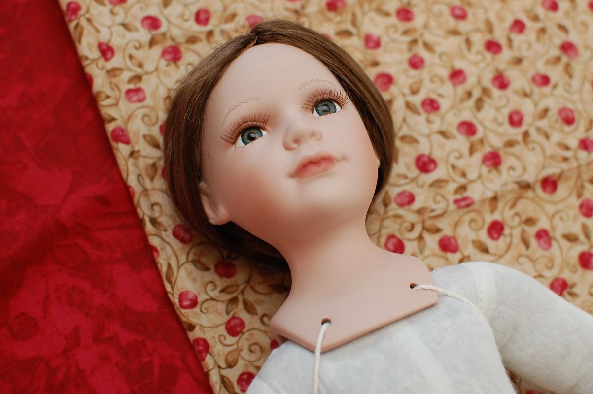 подбор образы для фарфоровой куклы