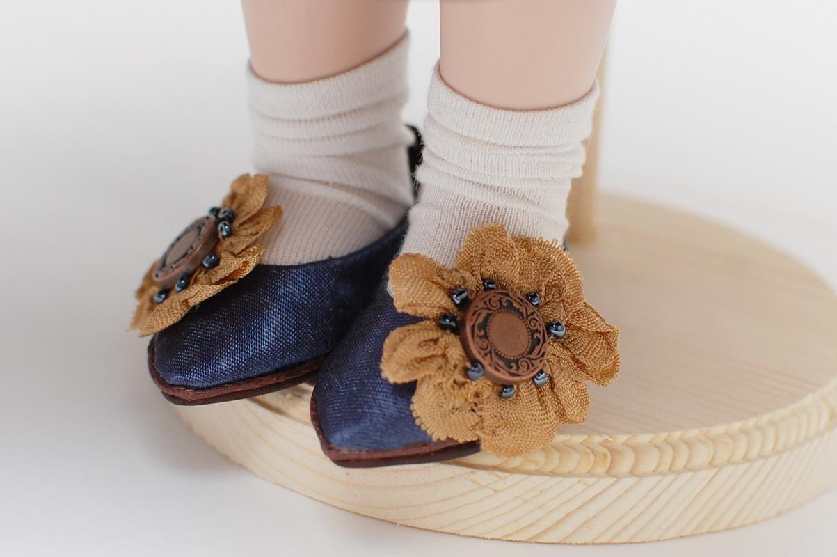 туфли из ткани
