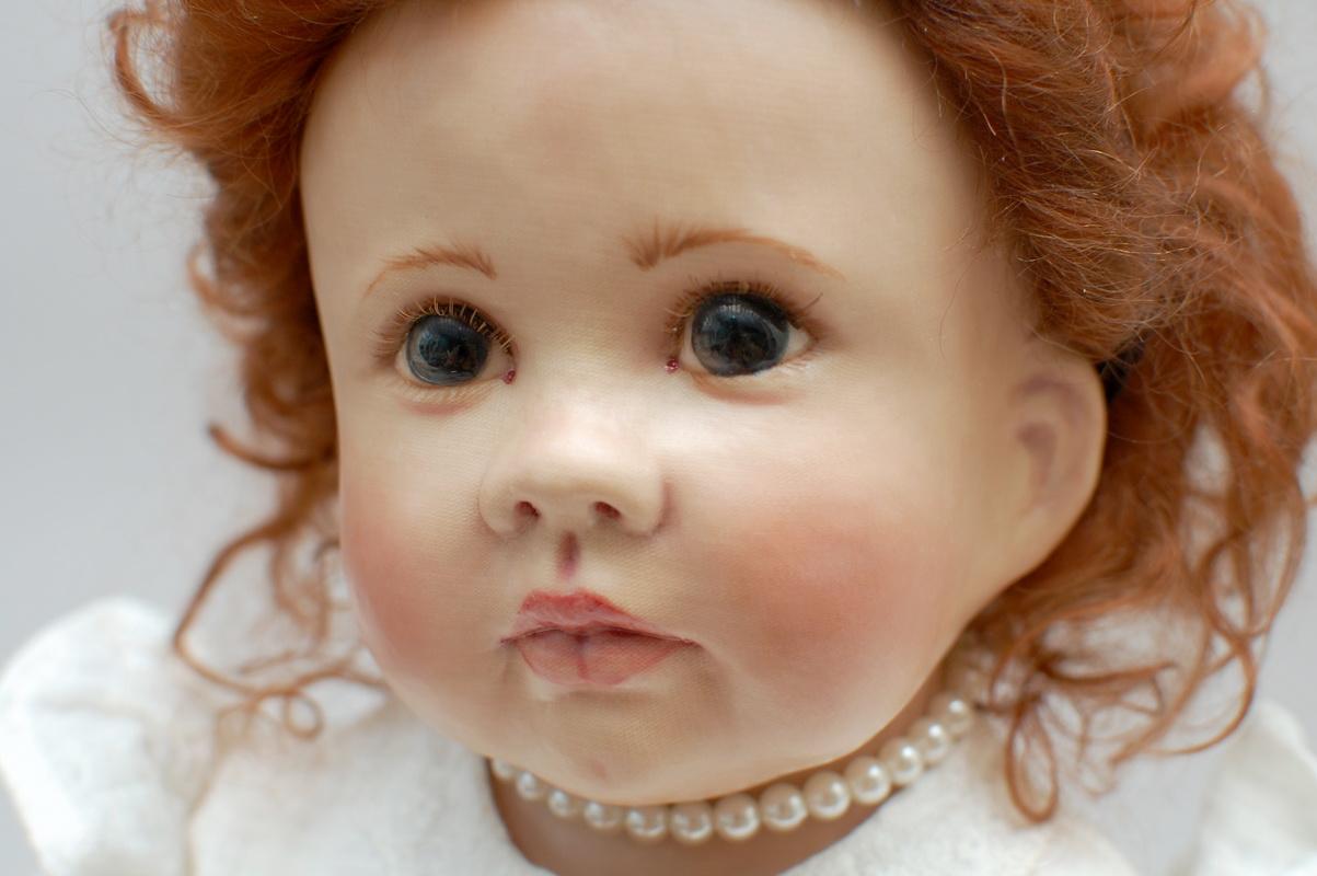 голова куклы Linda Murray