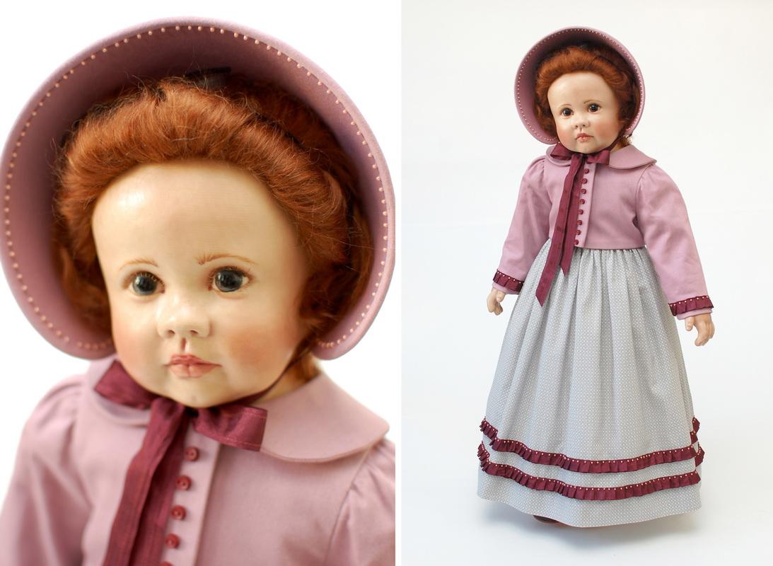 одеждя для куклы в стиле ампир