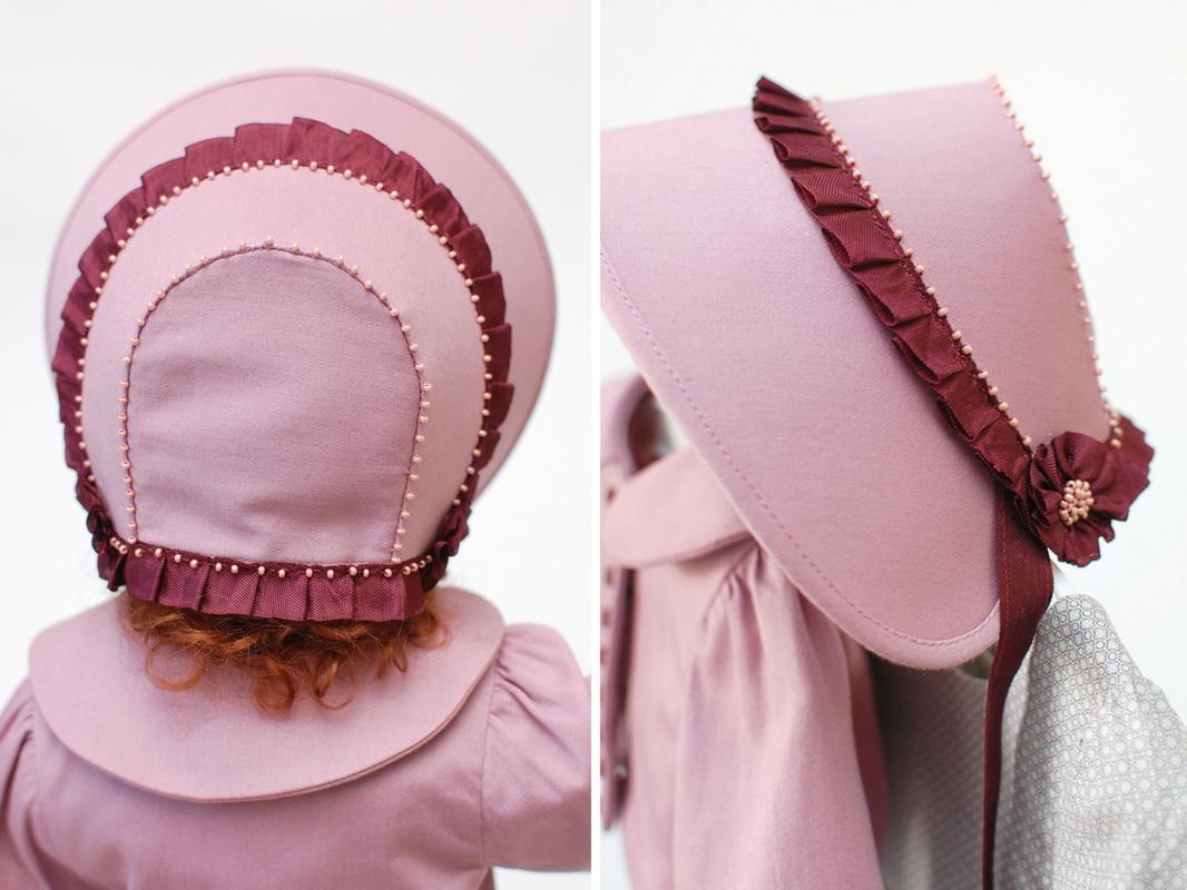 шляпка с лентами