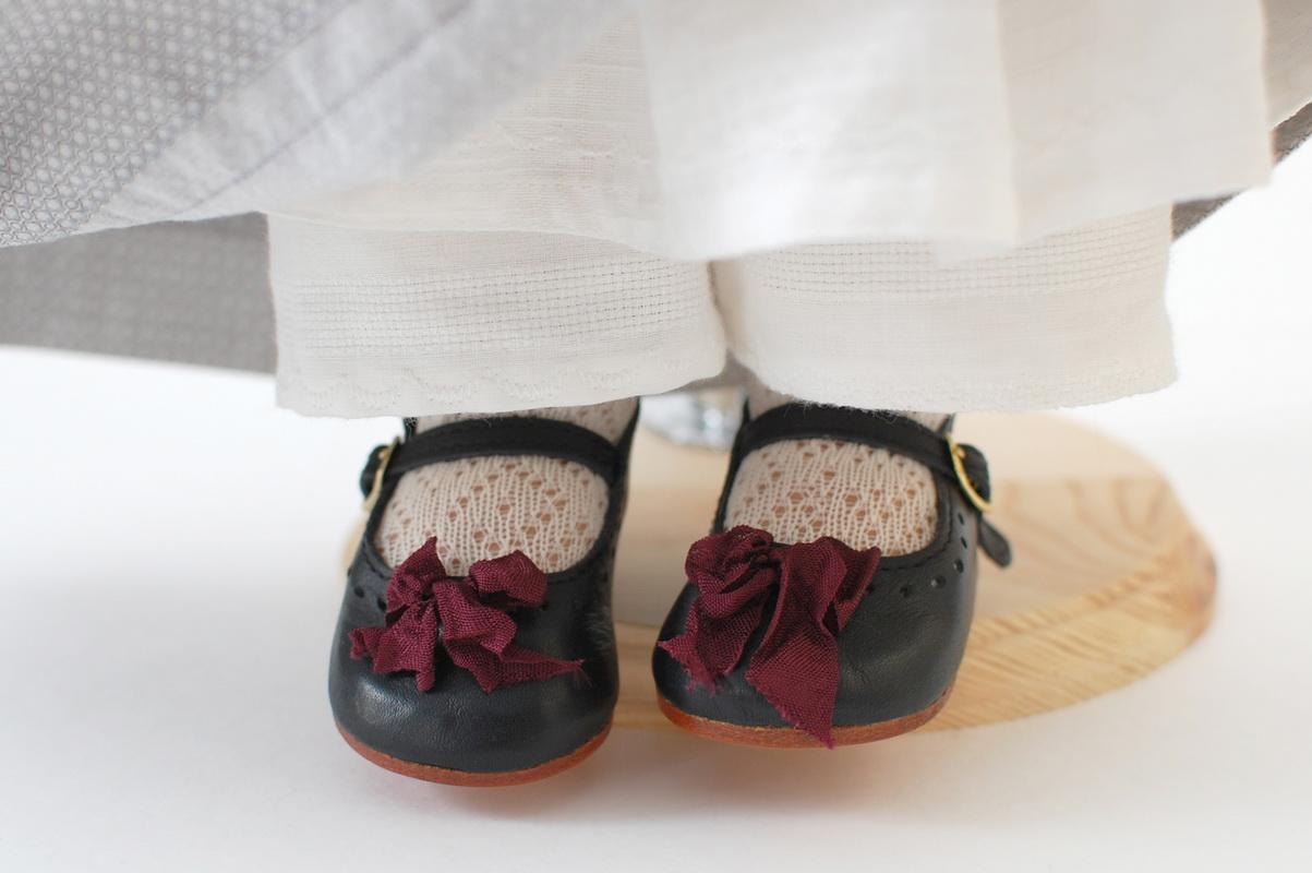туфельки с бантом