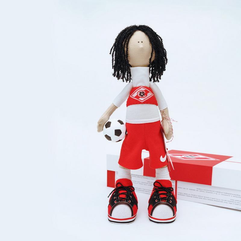 фото текстильной интерьерной куклы Тино Коста
