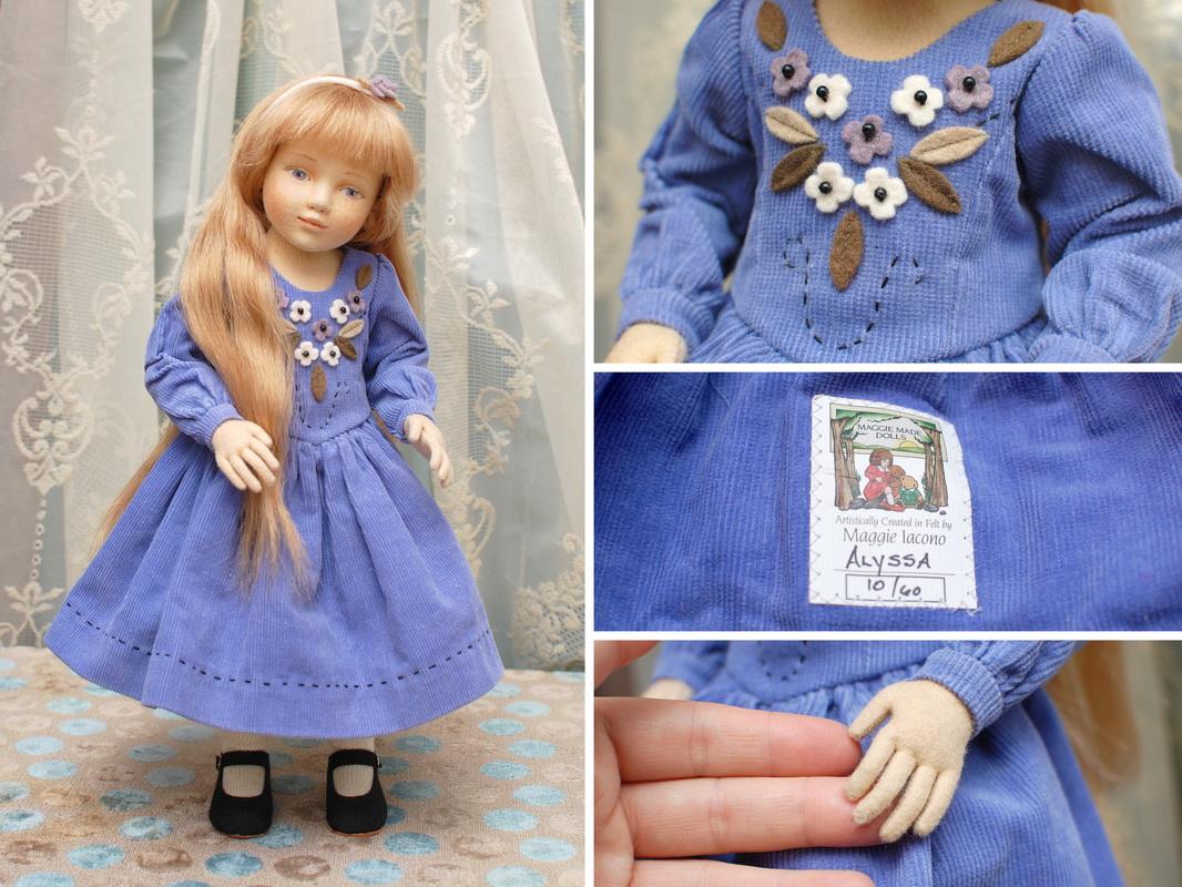 кукла из фетра